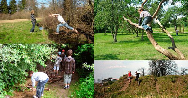 Naturerfahrungsräume - Natur unreglementiert entdecken. Fotos: Dr. Hans-Joachim Schemel, Gabriele Wardius