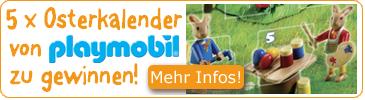 Gewinnspiel Playmobil Osterkalender