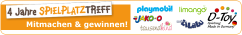 Aktion Onlinejubiläum Spielplatztreff