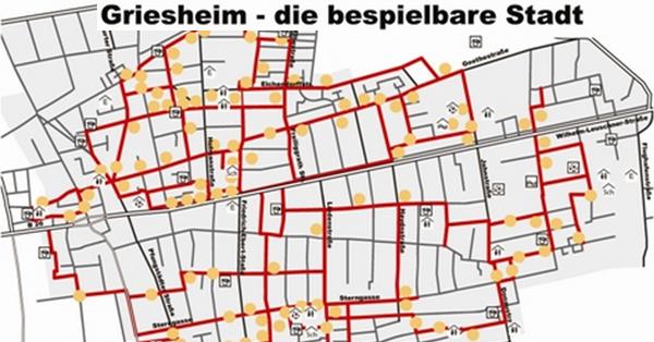 Spielpunkte in Griesheim