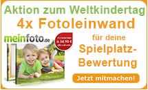 Spielplatztreff Aktion zum Weltkindertag