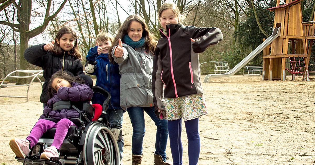 Der Blücher-Spielplatz soll bald Spielmöglichkeiten für Kinder mit und ohne Behinderung bieten. Foto: Blücher-Spielplatz-Projekt