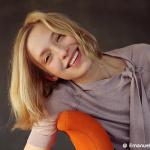 Die Schauspielerin Sandra Borgmann, Foto: @ Emanuela Danielewicz