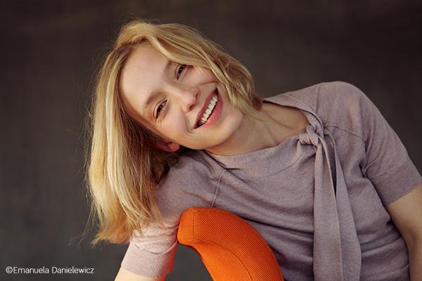 Die Schauspielerin Sandra Borgmann, Foto: Emanuela Danielewicz