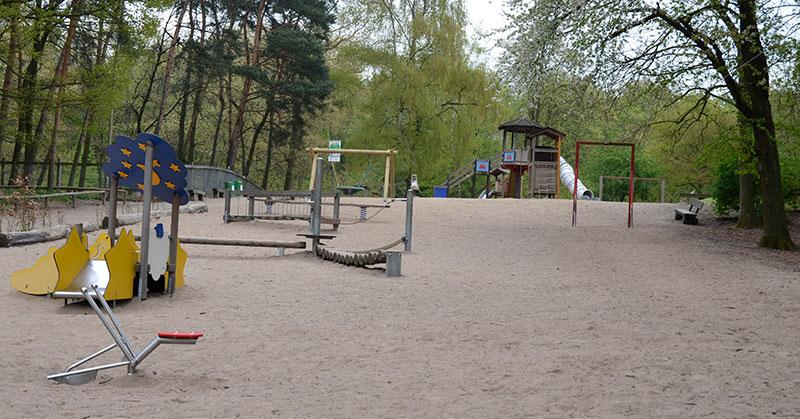 Auch der Spielplatz im Tierpark Tannenbusch ist auf Spielplatztreff zu finden. Foto: Stadt Dormagen