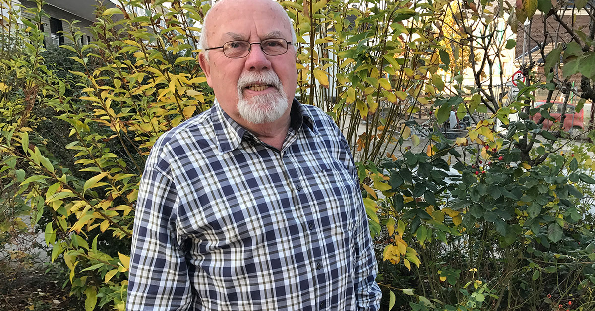 Werner Beermann ist seit 11 Jahren Spielplatzpate in Hagen-Haspe