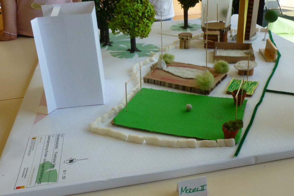 Spielplatz Modell