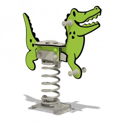 Federwippe Krokodil Wickey