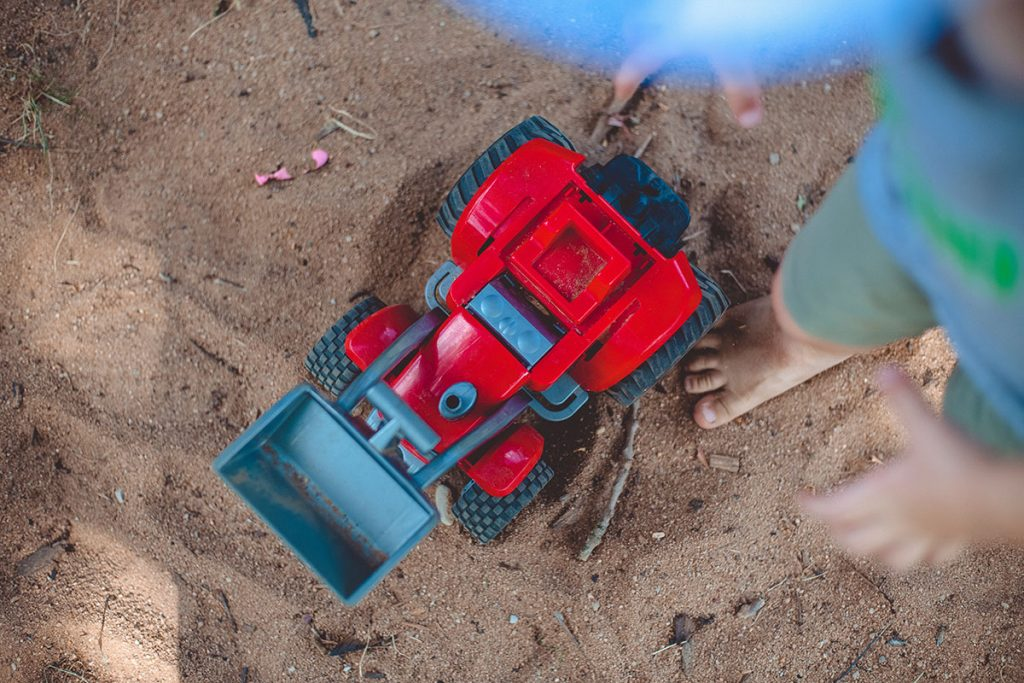 Sandspielbagger