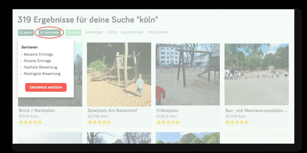 Spielplatzsuche Spielplatztreff.de