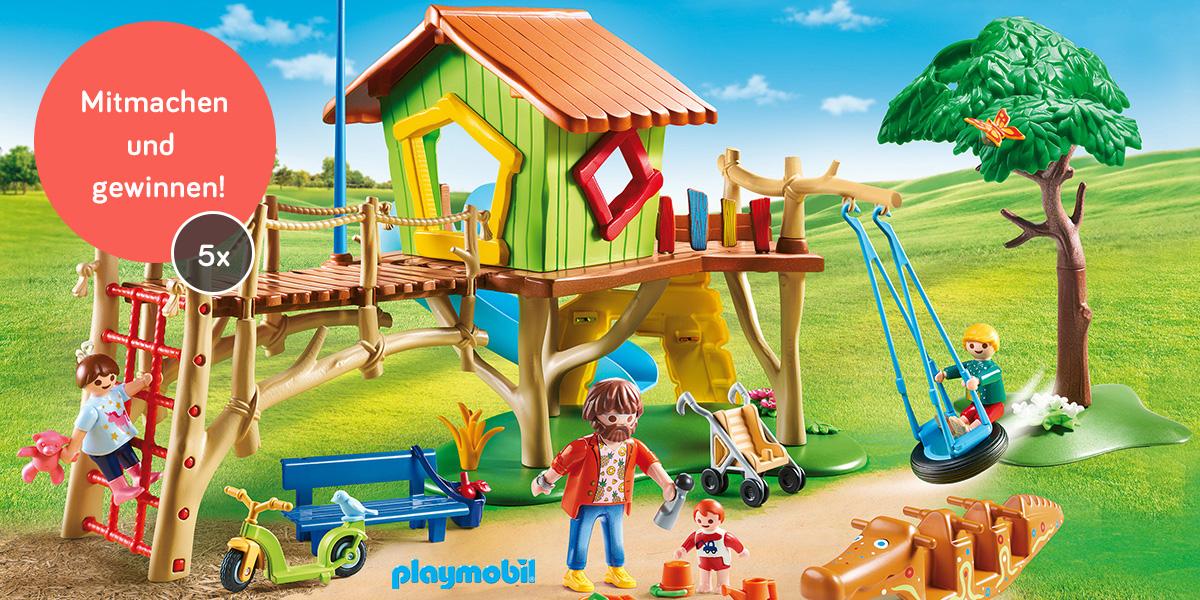 Abenteuerspielplatz playmobil