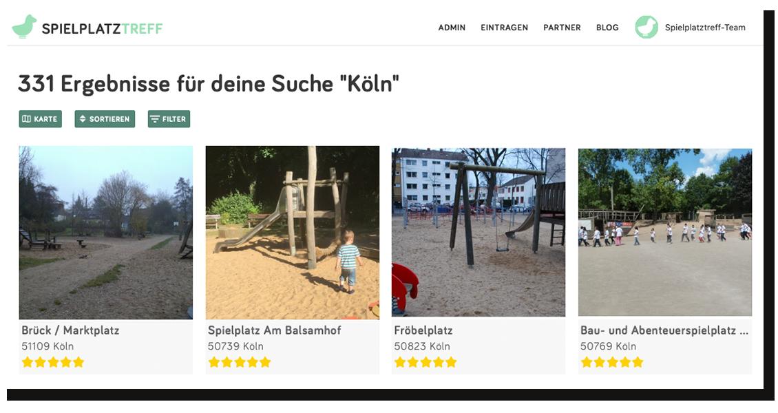 Spielplatzsuche Köln