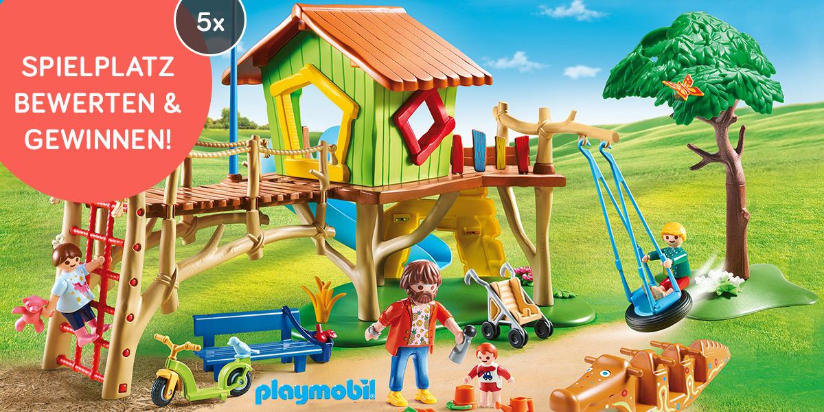 Abenteuerspielplatz von PLAYMOBIL