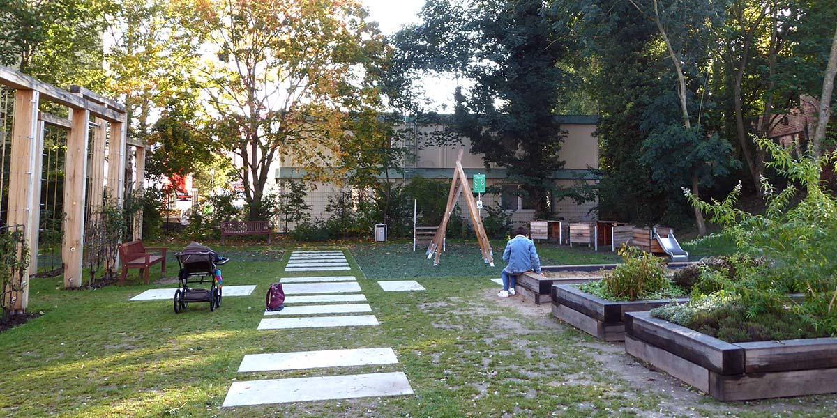 Neuer Spielplatz in Rostock