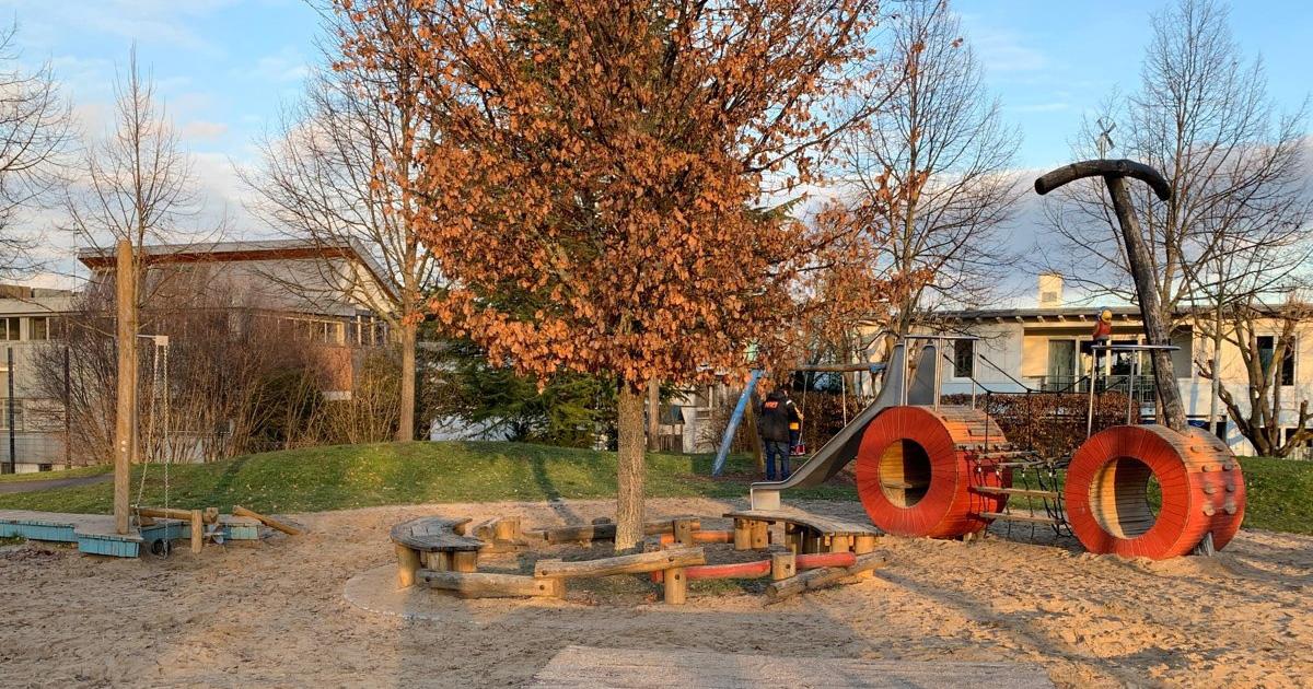 Traktor-Spielplatz in Kornwestheim