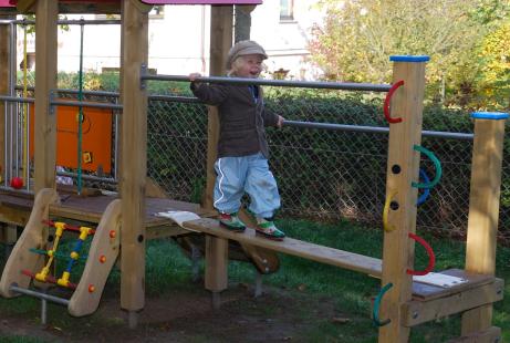 Spielplatz zum Balancieren