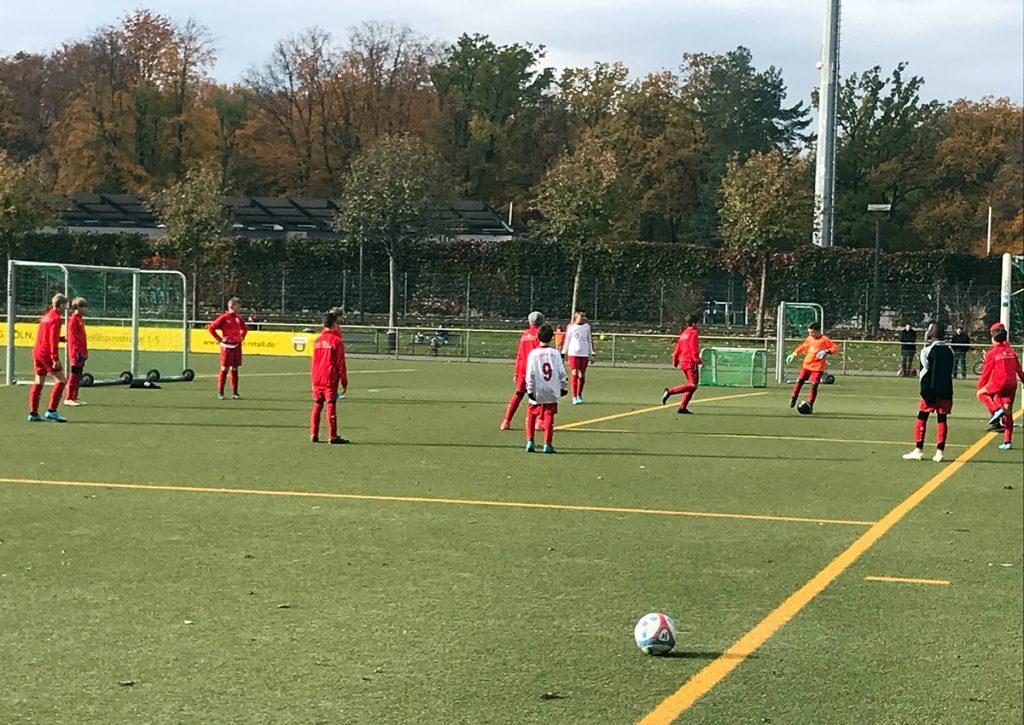 Kinder Fußballtraining