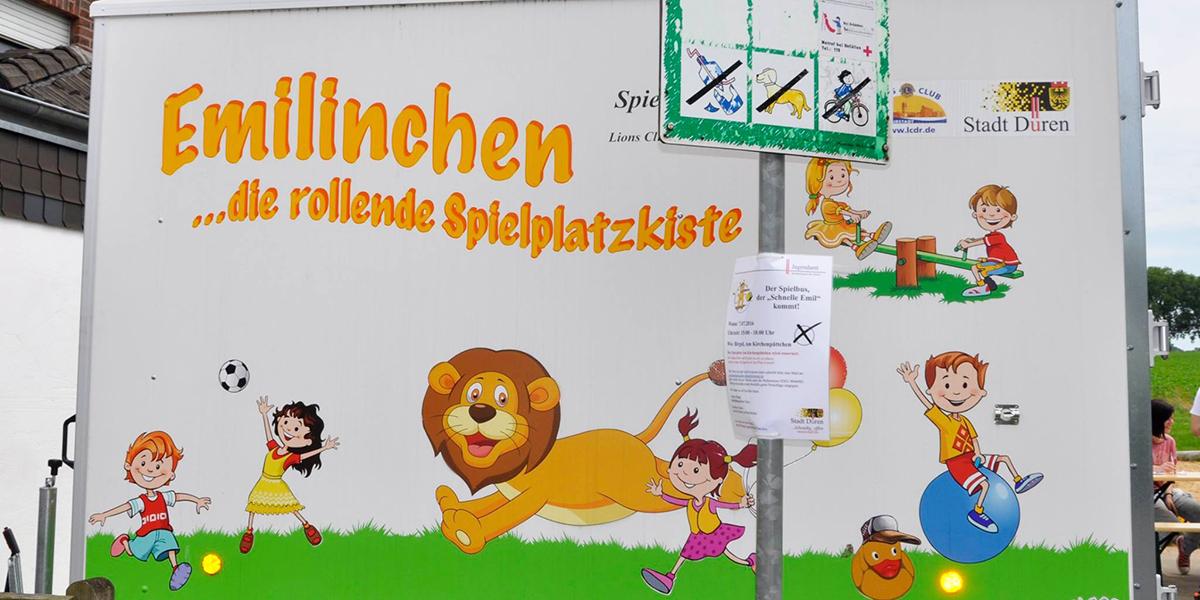Spielzeug Container Emilinchen Stadt Düren