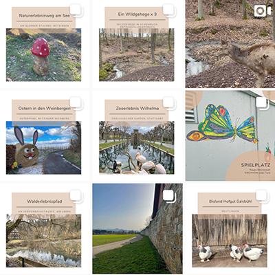 Wunderkunft Feed auf Instagram