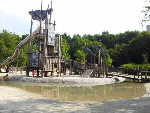 Wasserspielplatz Westpark