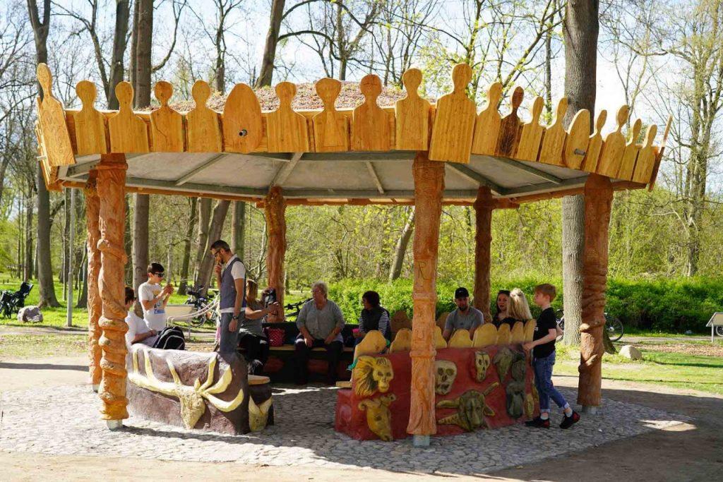 Pavillon Rethra Spielplatz