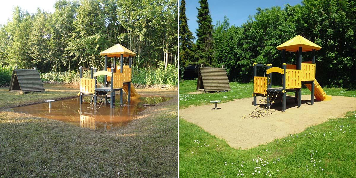 Hochwasser-Spielplatz Erftstadt