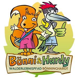 Bönni und Hardy Walderlebnispfad Bönninghardt
