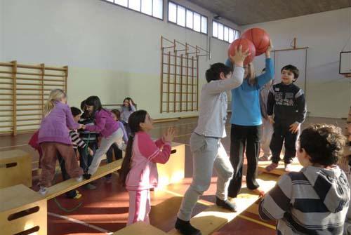 Bewegungsbaustelle - Ballkampf