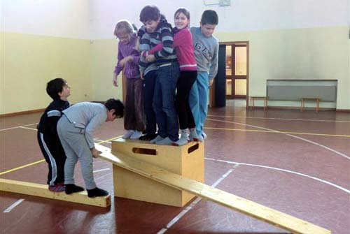 Kooperation auf der Bewegungsbaustelle
