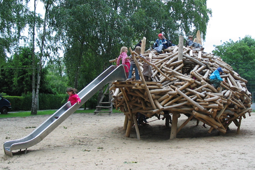 Biberburg Spielplatz