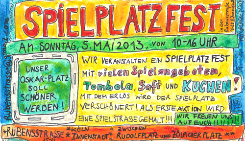 Oskarplatz Spielplatzfest