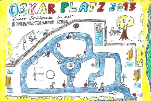 Oskarplatz Spielstraße