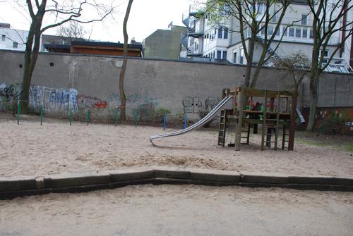 Trister Spielplatz