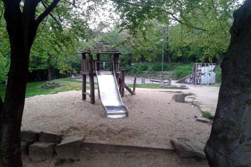 Spielplatz Unterkirchen Wuppertal, Foto: