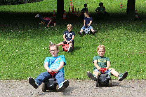 Spielplatzfest Unterkirchen Bobbycar