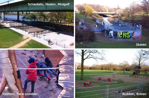 Spielplätze in Köln