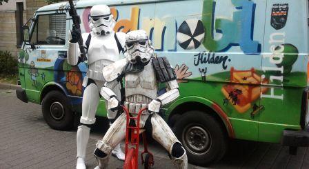 Das Spielmobil Hilden ist seit 16 Jahren in den Stadtteilen unterwegs. Foto: Jugendförderung Hilden -md