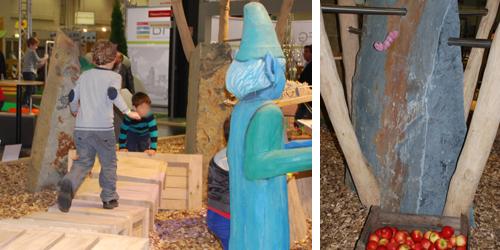Die Firma Kindt kombiniert Holz mit Stein. Foto: Schilling
