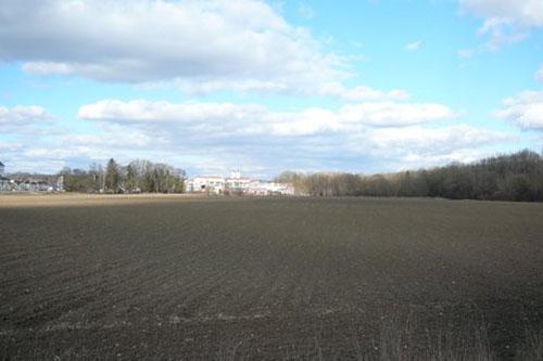 "Hier entsteht das zusätzliche Wohngebiet ""Seilerbrückl"", Foto: Blessou"