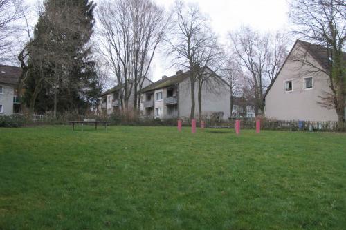 Auf dem Spielplatz Falkenweg wurden in den letzten Jahren immer nur Spielgeräte abgebaut, aber nicht ersetzt. Foto: Hengst-Gohlke