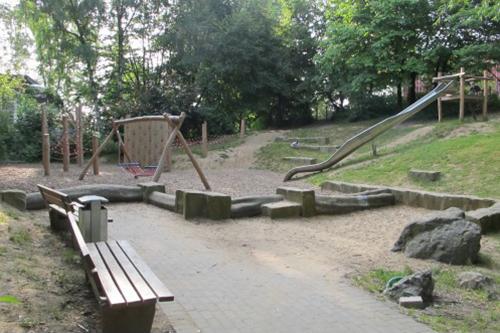Nach Umfrage-Aktion wurde der Spielplatz völlig neu gestaltet. Foto: Hengst-Gohlke