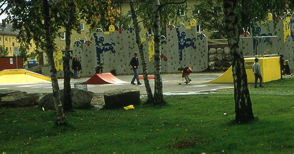 Diese Skateanlage wurde im Anschluss fest gebaut. Foto: Spiellandschaft Stadt e.V.