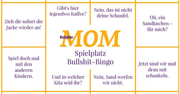 Brigitte MOM Spielplatz Bullshit-Bingo
