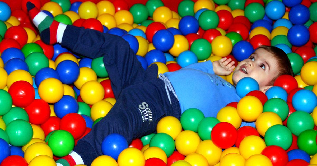 Im Balleparadies kommen auch schon die Kleinsten auf ihre Kosten. Foto: CC0 Public Domain